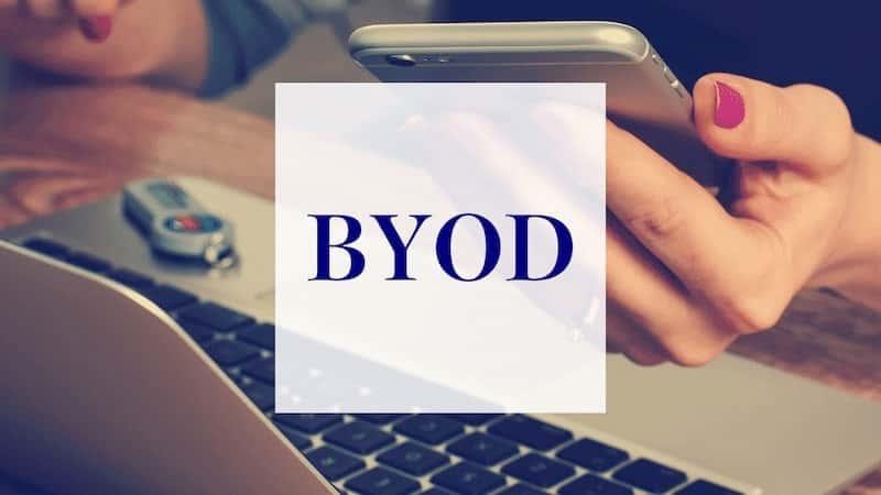 BYODとは?企業の導入メリットや注意点を簡単解説。